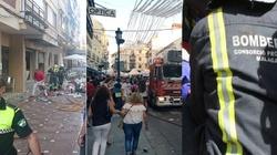 Eksplozja w Hiszpanii . 90 rannych. Wybuch gazu? - miniaturka
