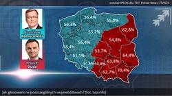 Oto jak głosowała Polska! Śląsk poparł Dudę - miniaturka