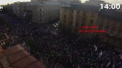 Wszystko już jasne! Niecałe 50 tys uczestników marszu anty-PiS! - miniaturka