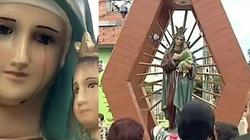 CUD? Kolumbia: Figurka Maryi Dziewicy... płacze - miniaturka