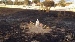 Niezwykły cud w Hiszpanii. Pożar spalił wszystko, oprócz figurki Matki Bożej z Lourdes - miniaturka