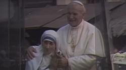 Jan Paweł II o Matce Teresie z Kalkuty  - miniaturka