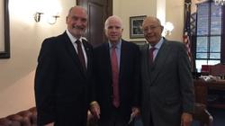 Szef MON w USA. John McCain zachwycony spotkaniem! - miniaturka