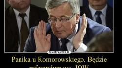 Internauci bezlitośnie komentują porażkę Komorowskiego - miniaturka