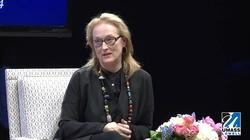 Meryl Streep: Mówienie po polsku to największy stres w moim życiu - miniaturka