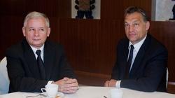Jarosław Kaczyński na spotkaniu z Viktorem Orbanem - miniaturka