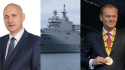 MOCNE! Brudziński: Gdy Francuzi budowali Mistrale, Tusk odbierał medale za likwidację stoczni - miniaturka
