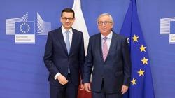 Juncker gratuluje premierowi Morawieckiemu i ,,nie może się doczekać'' - miniaturka