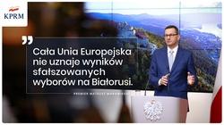 Premier Morawiecki: Pomoc dla Białorusi w transformacji demokratycznej - miniaturka
