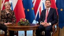 Morawiecki po spotkaniu z May: Polacy, na Wyspach jesteście bezpieczni, ale zapraszamy do Polski - miniaturka