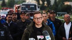 """Premier na terenach powodziowych w Małopolsce: """"Będziemy starali się pomagać jak najszybciej"""" - miniaturka"""