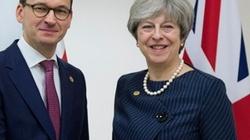 Morawiecki spotkał się z May. O czym rozmawiali premierzy? - miniaturka
