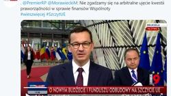 Morawiecki: Niezgadzamy się naarbitralne ujęcie kwestii praworządności  - miniaturka