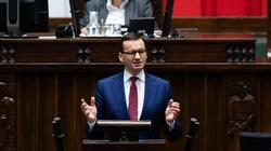 Morawiecki: Ciężko wam będzie udowodnić, że 400 mld euro to więcej niż 700 - miniaturka