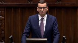 Mocne słowa premiera do opozycji w Sejmie: Granica Polski to świętość, a Mińsk i Moskwa oklaskują wasze czyny - miniaturka