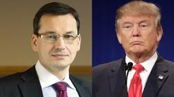 Morawiecki: Donald Trump musiał czytać program PiS - miniaturka