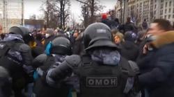 Moskwa. Zatrzymano tysiące obrońców Nawalnego [Wideo] - miniaturka