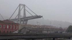 Zawalił się wiadukt w Genui. Dziesiątki osób przygniecionych - miniaturka