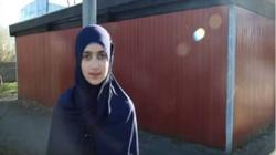 15-letnia muzułmanka skarży się na prześladowania ze strony Szwedów - miniaturka