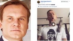 Dominik Tarczyński o Nergalu: Ten ''obleśny degenerat'' pójdzie siedzieć. Obiecuję - miniaturka