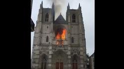 Imigrant przyznał się do podpalenia katedry w Nantes - miniaturka