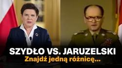 Skandaliczna manipulacja NaTemat: 'Szydło vs Jaruzelski- znajdź 1 różnicę...' - miniaturka
