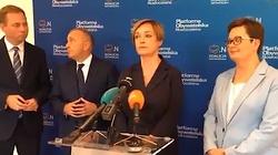 Kompromitacja ,,złotoustej'' kandydatki PO i Nowoczesnej na prezydenta Słupska. Mina Schetyny mówi wszystko - miniaturka