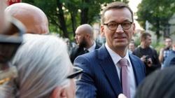Premier Morawiecki: Nie chcemy, tak jak tamci, przepraszać za Polskę. My chcemy być Polski z dumni - miniaturka