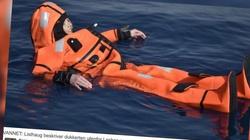 TOTALNY ABSURD! Norweska minister chciała poczuć się jak uchodźcy, więc wskoczyła do wody! - miniaturka