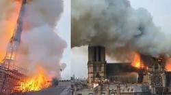 Notre-Dame w ogniu. Komentarze polityków - miniaturka