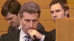 Oettinger mówi wprost: Polska gospodarka to lokomotywa - miniaturka