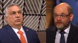 Schulz rozkłada bezradnie ręce mówiąc o Orbanie: ,,On nie chce naszego rozpustnego, gejowskiego zachodniego stylu życia'' - miniaturka