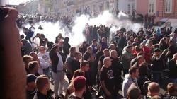 Zamieszki w Lublinie. Policja użyła siły na marszu sodomitów - miniaturka