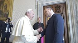 Jutro Papież zwróci się do ONZ i spotka się z prezydentem Dudą - miniaturka