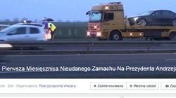 Pierwsza Miesięcznica Nieudanego Zamachu Na Prezydenta Andrzeja Dudę. PALIKOCIARNIA POWRACA, czyli totalne chamstwo - miniaturka