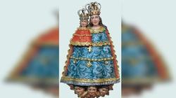 Cudowna figura Matki Bożej słynąca łaskami - miniaturka