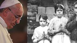 Mocne słowa papieża Franciszka do Polaków i Portugalczyków przed obchodami 100-lecia objawień w Fatimie - miniaturka