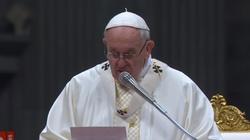 ,,To skandaliczne!''. Ostra krytyka encykliki papieża Franciszka. Pominął kwestię aborcji - miniaturka