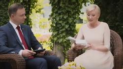 """Para prezydencka zachęca do czytania """"Quo Vadis"""". Zobacz wideo! - miniaturka"""