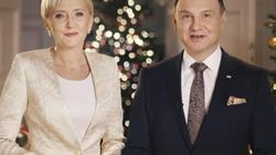 Życzenia świąteczne od pary prezydenckiej - miniaturka