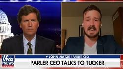 ,,Otrzymujemy groźby śmierci, nie nocujemy w domu'' – powiedział w Fox News ukrywający się z rodziną szef serwisu Parler - miniaturka