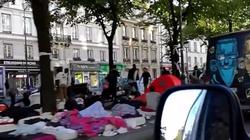 Paryż - imigranci zmieniają go w śmietnik i koczowisko - miniaturka
