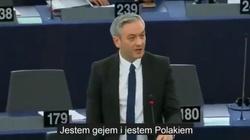Robert Biedroń kłamliwie donosi na Polskę w PE. ,,Jestem gejem...'' - miniaturka