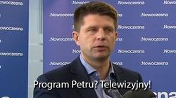 Szok! Petru nie wie kim jest Tusk ani Barroso! - miniaturka