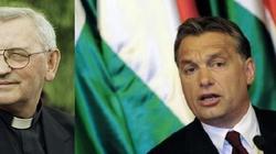 Bp Pieronek: Orban próbuje uratować chrześcijańską Europę - miniaturka