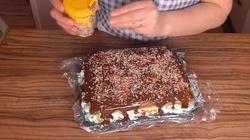 Zimowa nostalgia - ciasto ,,cygańskie śnieżki'' ją ukoi - miniaturka
