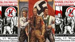Plakat narodowców wzorowany na nazistowskim plakacie propagandowym? - miniaturka