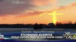Apokalipsa NADCHODZI! Na niebie w Michigan pojawił się … płonący krzyż!  - miniaturka