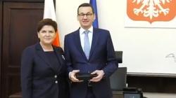 Oficjalne powitanie Morawieckiego w Kancelarii Premiera - miniaturka