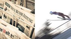 Niemieckie media: Konkurs narciarski w Oberstdorfie ,,przyćmiony przez polski rząd'' - miniaturka